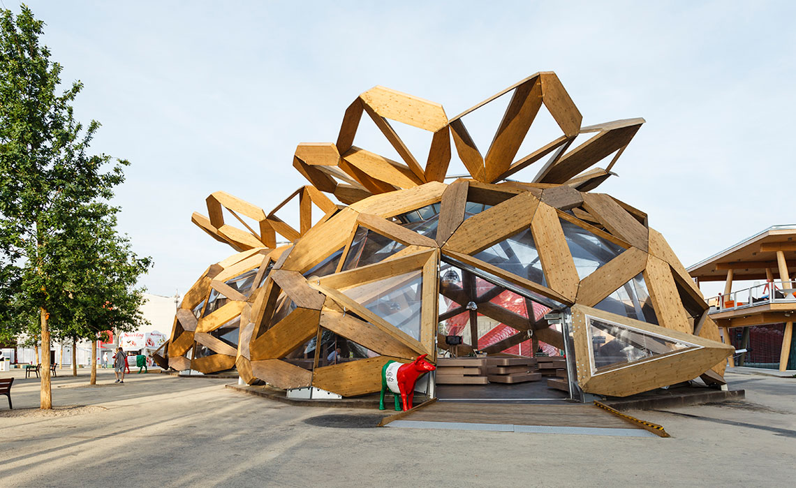 love it pavilion for expo milano 2015 miralles. Black Bedroom Furniture Sets. Home Design Ideas